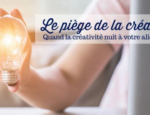 Le piège de la créativité